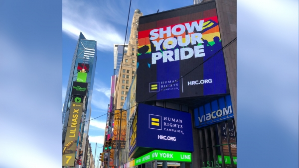 HRC Celebrates Stonewall 50 at World Pride