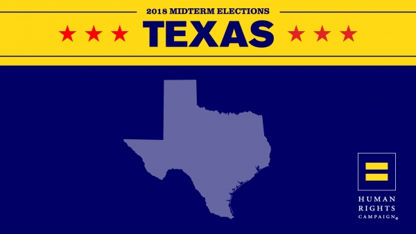 Victory for HRC-Backed Candidates Colin Allred, Lizzie Fletcher and Sylvia Garcia in TX