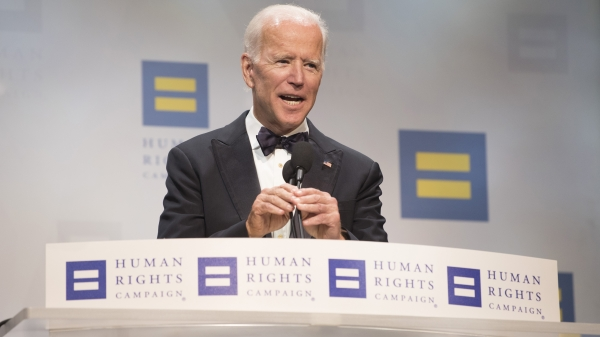 WATCH: Joe Biden, Eric Holder, Anne Hathaway and More at the 22nd Annual HRC National Dinner