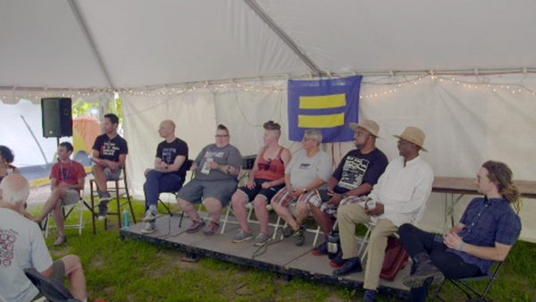 HRC Foundation Hosts Faith Leaders for Justice Camp at Wild Goose Festival