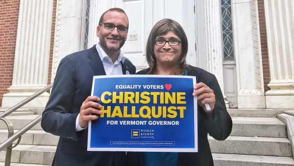 HRC Endorses Christine Hallquist for Governor of Vermont