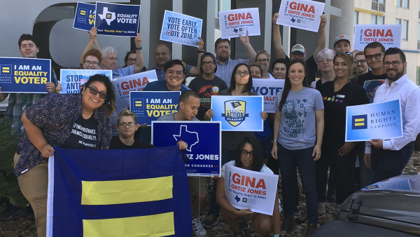 The Slate Of HRC-Endorsed Pro-Equality Candidates In the Lone Star State