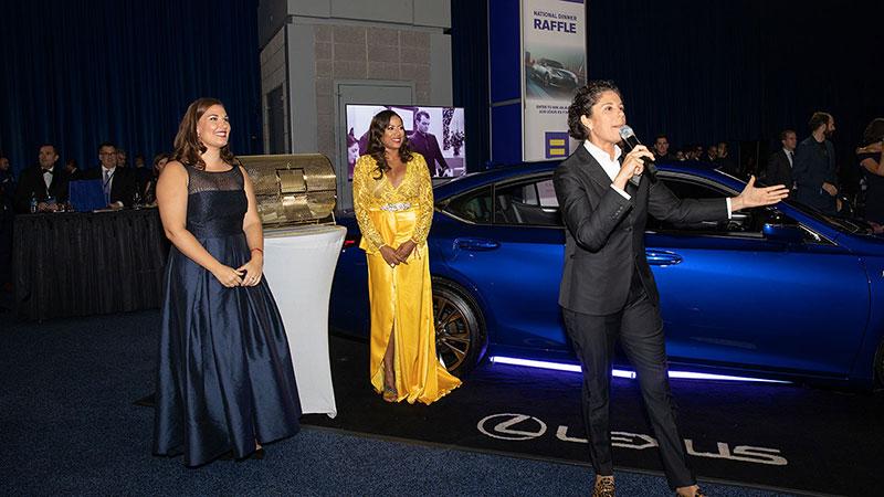 HRC National Dinner; Lexus raffle