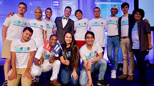 HRC 2017 Youth Ambassadors; Time to THRIVE